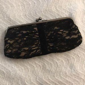 Vintage Ann Taylor Loft lace clutch